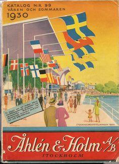 Märkligt hur priserna på gamla postorderkataloger varierar på Tradera. Från några tior till flera hundra kronor. Den här från utställningsåret 1930 blev i särklass dyrast.