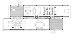 09 Casa Glenn Murcutt. Plano de la ampliación, 1980.