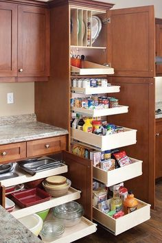 Uplifting Kitchen Remodeling Choosing Your New Kitchen Cabinets Ideas. Delightful Kitchen Remodeling Choosing Your New Kitchen Cabinets Ideas. Diy Kitchen Storage, Kitchen Cabinet Organization, Diy Kitchen Cabinets, Cozy Kitchen, Kitchen Cabinet Design, Kitchen Pantry, Kitchen Flooring, Kitchen And Bath, New Kitchen
