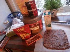 Proteinbar Sjokolade Snacks, Baking, Food, Bread Making, Appetizers, Patisserie, Essen, Backen, Yemek