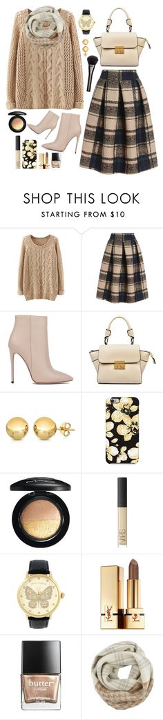 """""""::infinity scarves::"""" by sinesnsingularities ❤ liked on Polyvore featuring Akira Black Label, Sevil Designs, Isaac Mizrahi, MAC Cosmetics, NARS Cosmetics, Betsey Johnson, Yves Saint Laurent, Butter London, Woolrich and Gucci"""