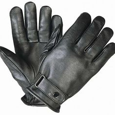 <b>Xelement XG1229 Men's Black Premium Leather Gloves</b><br><br>Quality basic casual premium leather gloves come made with quality cowhide leather. Fully lined and Hook & Loop closure with snap on wrist for added fit this glove have a classic design look. Only available here at the web's #1 Online Leather Store. Your one stop shop for leather goods and accessories. Buy with confidence and save.