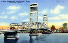 Main Street Bridge over St. Johns River - Jacksonville, Florida
