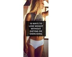 Lose weight without excercising