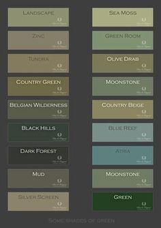 Best Home Color Palette Green Paint 45 Ideas Green Paint Colors, Green Colour Palette, Room Colors, Wall Colors, House Colors, Colour Palettes, Interior Paint Colors For Living Room, Lime Paint, Diy Home Decor For Apartments