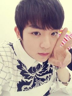 Somebody, please tell me why is he so adorable?!! >-<