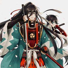 Touken Ranbu: Izuminokami Kanesada & Horikawa Kunihiro