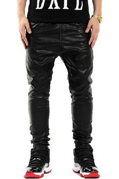 New Year s Coming! Checkout PIZOFF MEN LEATHER PANTS Mens Leather Pants 96ceb43831f