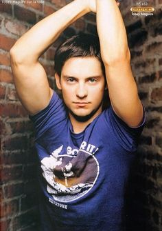 Tobey Maguire... I'm so high i can hear heaven...♫