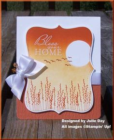 Bless Your Home by kittykya - Cards and Paper Crafts at Splitcoaststampers