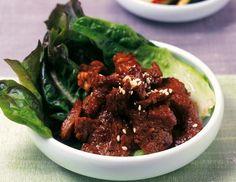 Bulgogi (gebratenes Rindfleisch) - Rezept  - ichkoche.at