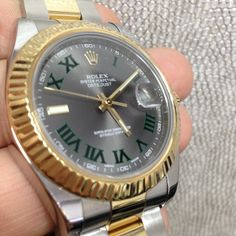 Rolex Datejust II Two Tone 41mm like new condition $8,750. #crmjewelers #watches #rolex