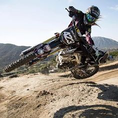 """I can't really say I had any female riders to look up to,"" says motocross champion Vicki Golden (@vgolden423). As a three-time X Games gold medalist, and the first female to qualify for Supercross and Arenacross, the 24-year-old from Southern California is paving the way for female riders. Despite concussions and major injuries, Vicki has one motto: never quit. ""Broken bones and all that stuff is just part of the game,"" she says. This post is in celebration of Women's History Month…"