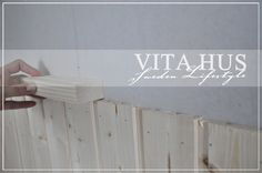 * VitaHus *: Wandvertäfelung selber bauen
