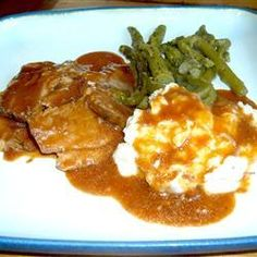Slow Cooker London Broil Recipe from Allrecipes