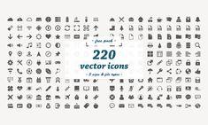 Descarga gratuita: 220 iconos vectoriales planos - Dreamstale Logo Design, Graphic Design, Vector Icons, Flat, Free Stuff, Vectors, Graphics, Icons, Bass