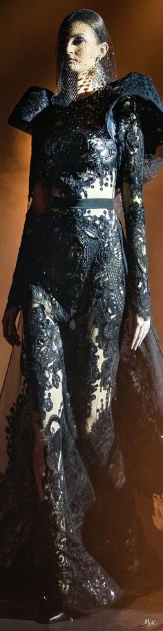 Spring 2021 Haute Couture Elie Saab Elie Saab Couture, Ellie Saab, Fashion Sketches, Ready To Wear, Spring, Pattern, How To Wear, Fashion Design, Clothes