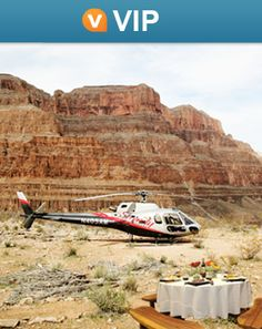 Experience the Grand Canyon like a VIP on our luxury sunset helicopter tour! This exclusive Viator tour can't be booked anywhere else: www.viator.com/...