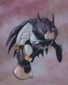 Batmanatee! by *jharris on deviantART