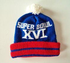Vintage 1982 Super Bowl XVI Knit Beanie , $17.99