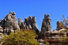 El Torcal. Home to some of the most striking karst formations in Europe