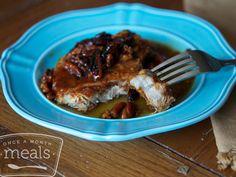 Honey Pecan Pork Chops recipe #glutenfree #dairyfree #freezercooking