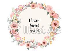 花飾りフレーム3