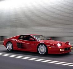 1989 Ferrari 512 TR  #FlashbackFriday goes into 90's mode. Bring out your inner cool with this fabulous Ferrari Testarossa