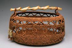 PORTFOLIO | LAURENBRISTOL.COM Rope Basket, Basket Weaving, Bristol, Indian Baskets, Fabric Bowls, Clothes Line, Egyptian Cotton, Wooden Handles, Fabric Art
