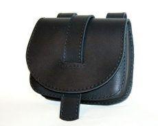 Bőr tarsoly övtáska, fekete - leather belt bag Leather Belt Bag, Leather Satchel, Saddle Bags, Shopping, Black, Souvenir, Leather, Leather Briefcase, Black People