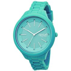 Rip Curl Horizon Silicone Watch (130 AUD) ❤ liked on Polyvore featuring jewelry, watches, accessories, mint, silicone wrist watch, silicone watches, water proof watches, mint green jewelry and silicon watches