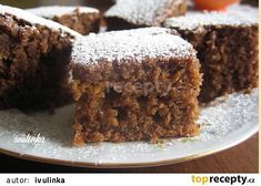 Good Food, Yummy Food, Sweet Cakes, Healthy Baking, Carrot Cake, Sweet Tooth, Dessert Recipes, Food And Drink, Cooking Recipes