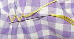 Counterchange Smocking How-To