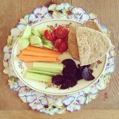 delicious healthy lunch