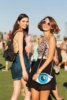 50+ Stylish Folks Who Rocked Coachella #refinery29  http://www.refinery29.com/coachella-style#slide14  The eyes have it!