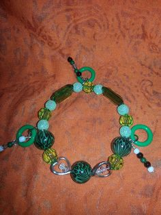 Hey, I found this really awesome Etsy listing at https://www.etsy.com/listing/167912398/love-of-green-bracelet