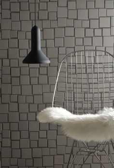 """""""Cloud"""" by Aki Motoyama for Brix. Five differently-sized tiles that appear to float on the surface."""