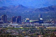 Check out the Phoenix Skyline!
