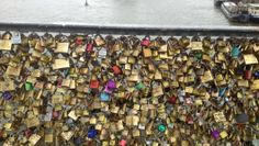 Getting our love locked down in Paris