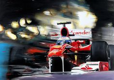 "© 2010-2011 Andrea Del Pesco: ""Fernando Alonso on Ferrari F10"""