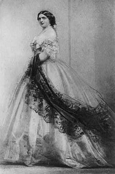 Princess Mary Adelaide, Duchess of Teck drawing, 1864