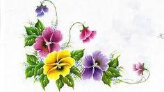 Resultado de imagem para desenhos para pintura em tecido de flores amor pereito