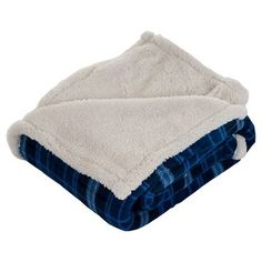 Yorkshire Home Fleece Sherpa Throw