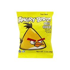 <p>Angry Bird Yellow Fruit Snacks and Gummies based on the worldwide puzzle Internet game sensation. Natural and artificial flavors. Made from real fruit juice.</p>