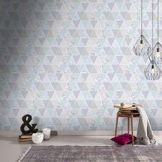 Mint Reflections Wallpaper