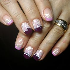 МАНИКЮР's photos – 991 albums Manicure, Nails, French, Beauty, Nail Bar, Finger Nails, Ongles, French People, Nail Manicure