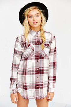 BDG Waterfall Tunic - Urban Outfitters