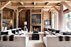 Rustic Glam in Megeve, France