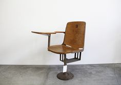 cool vintage school chair