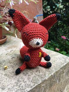 Le renard du Petit prince pour Rose (personal pattern)